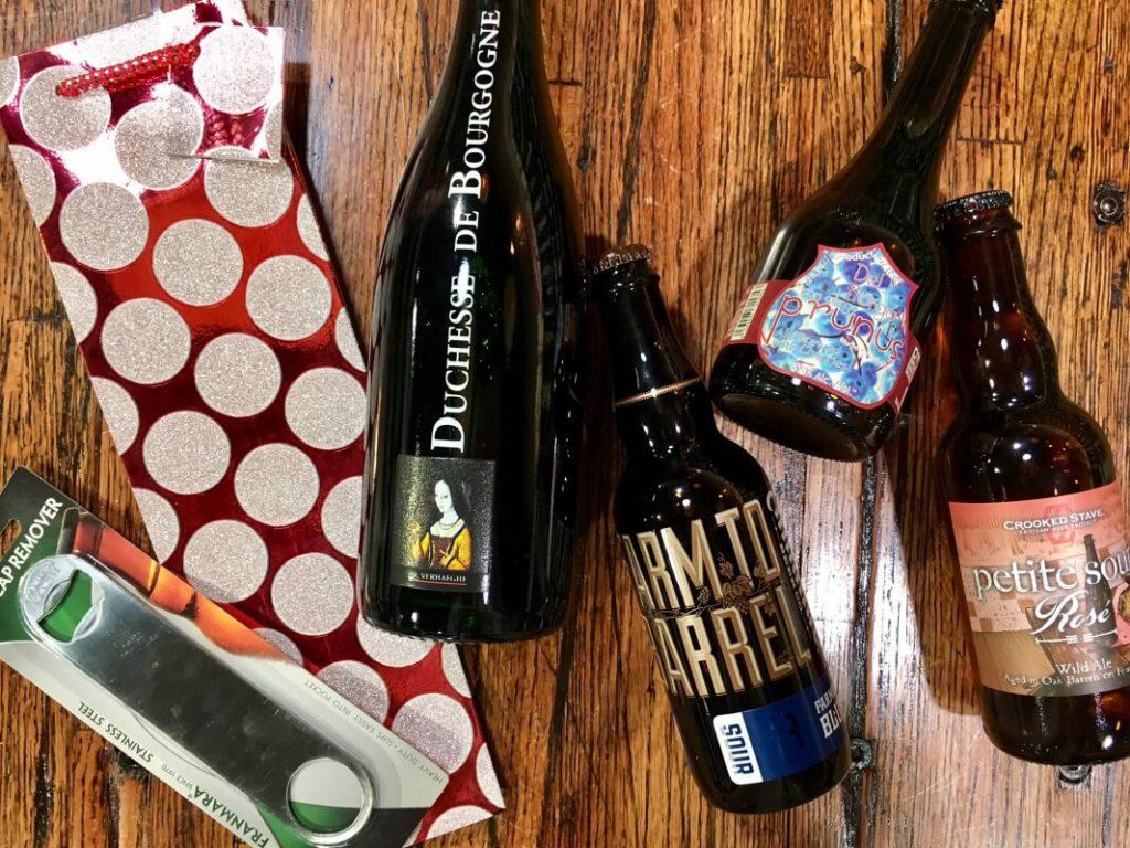 booze gift set