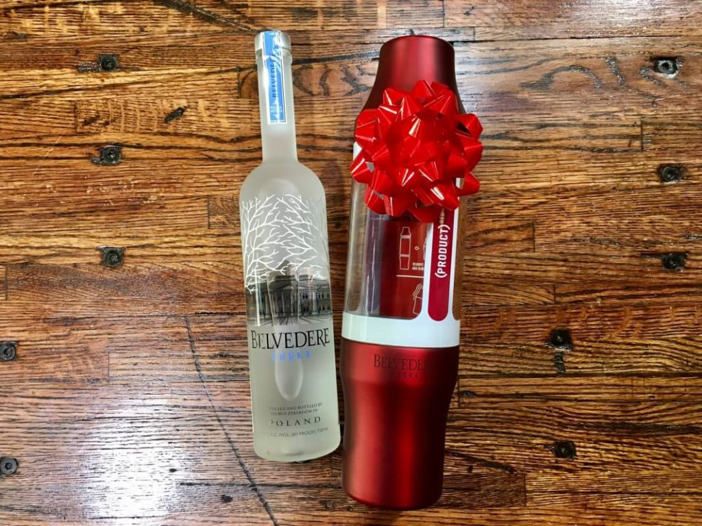 belvedere shaker set