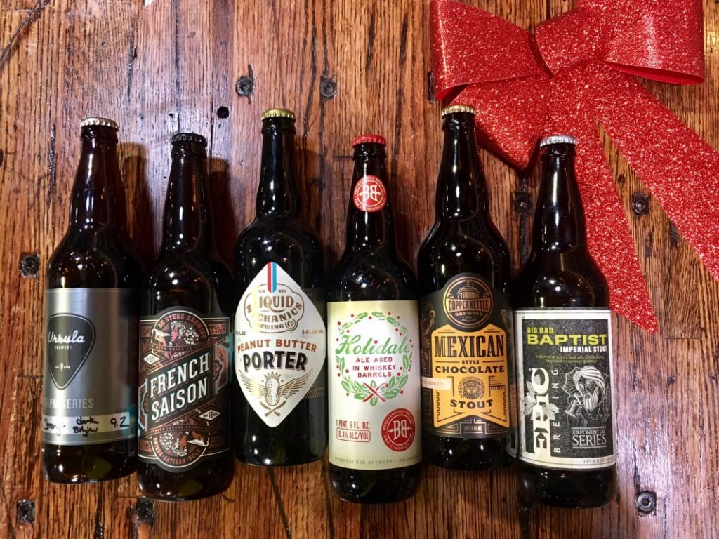 beer bombers holiday gift