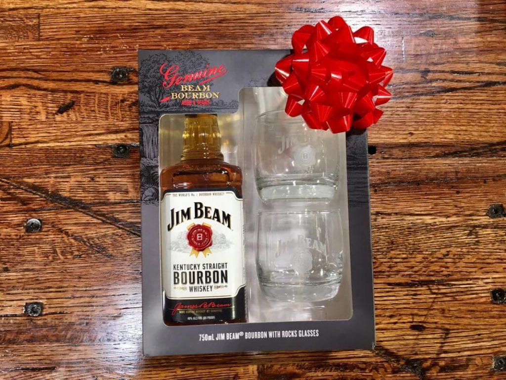 jim beam gift set