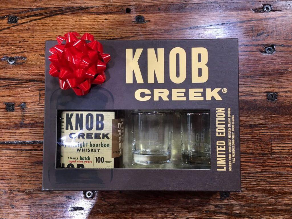 knob creek gift set