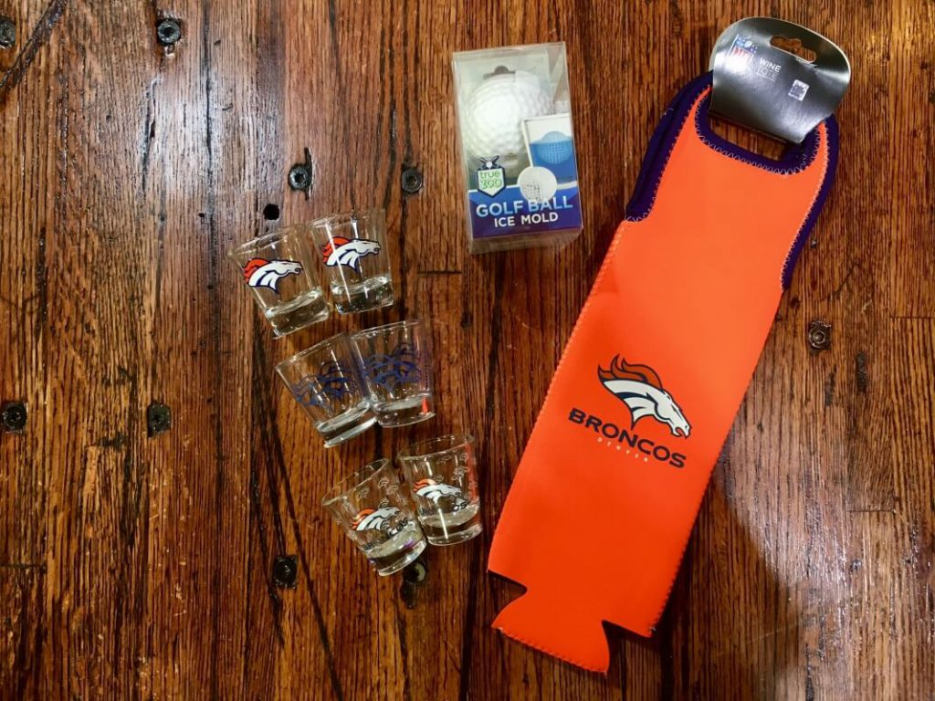 broncos sports fan holiday gift