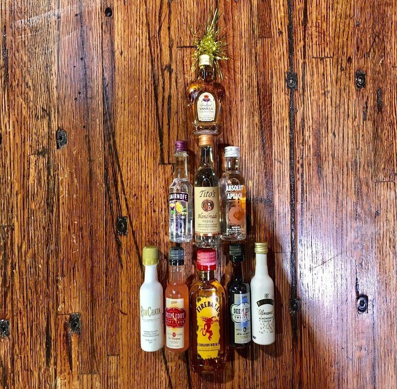 liquor sample gift set