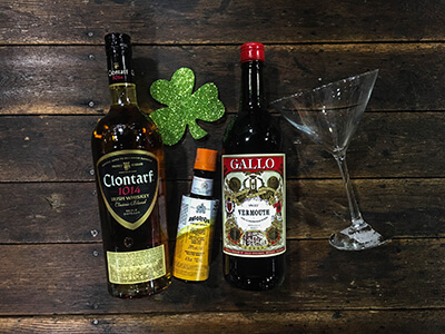 The Emerald St. Paddy's Day cocktail