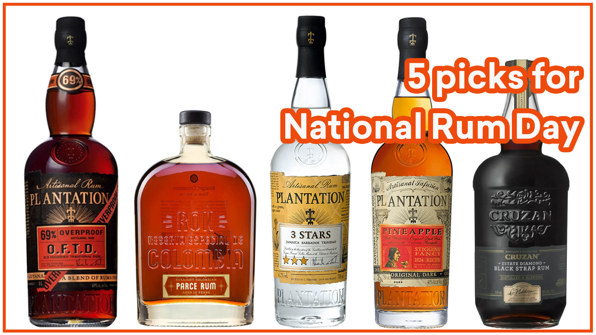 5 picks for national rum day