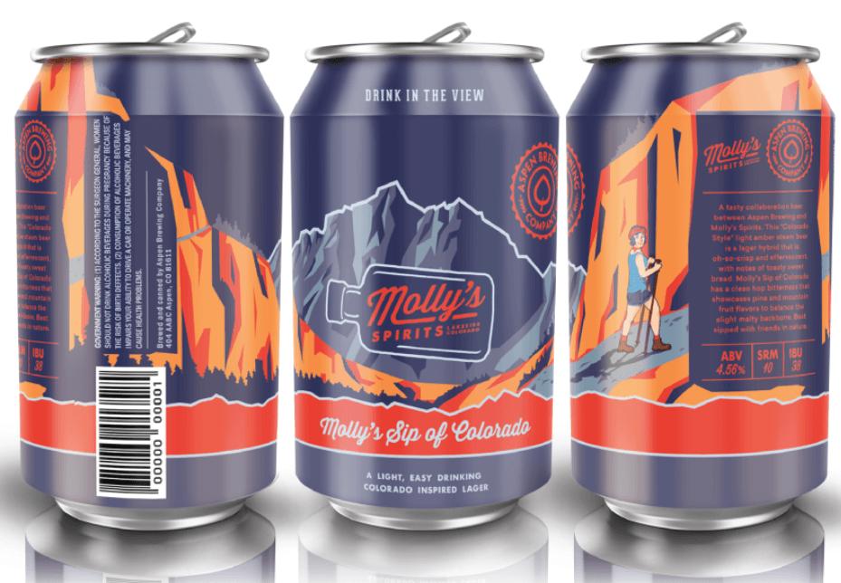 molly's sip of colorado - aspen brewing company
