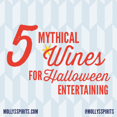 5 Mythical Wines for Halloween at Molly's Spirits